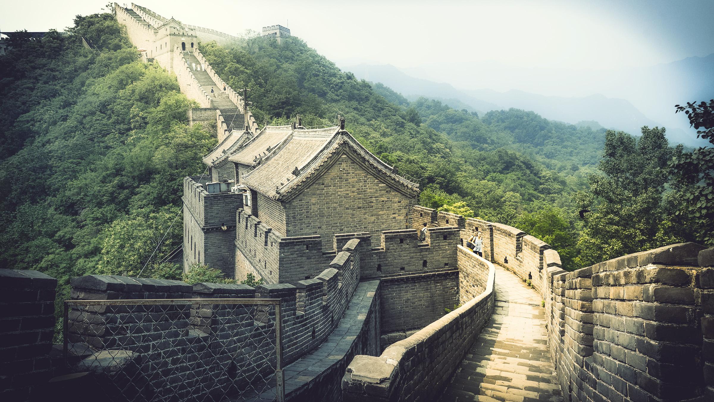 China Wall Mauer Travel Photography