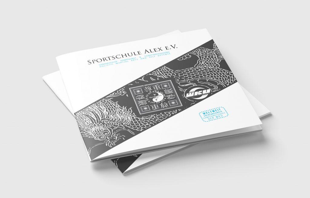 Broschüre Sportschule Alex Design