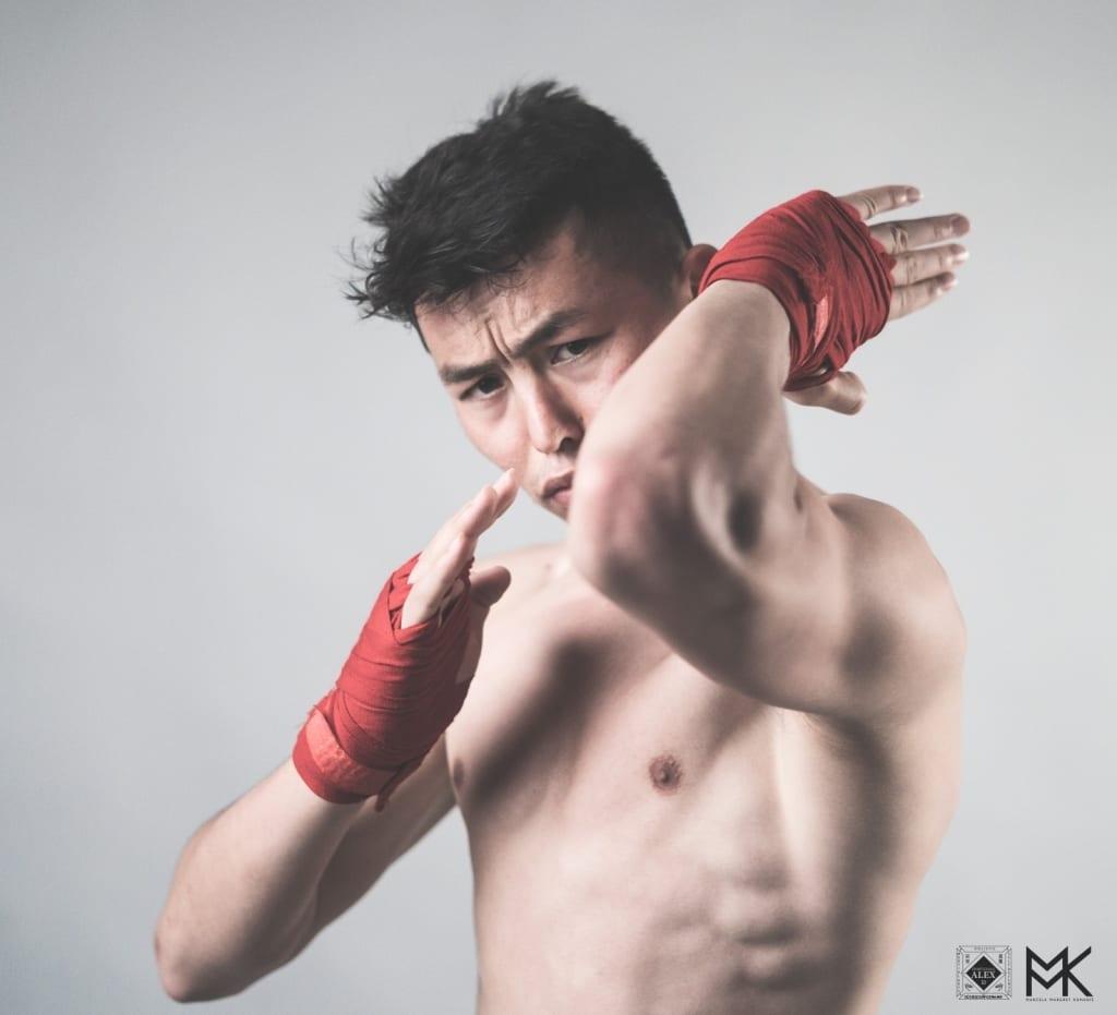 Ellbogen ellbow martial artist kampfsportler