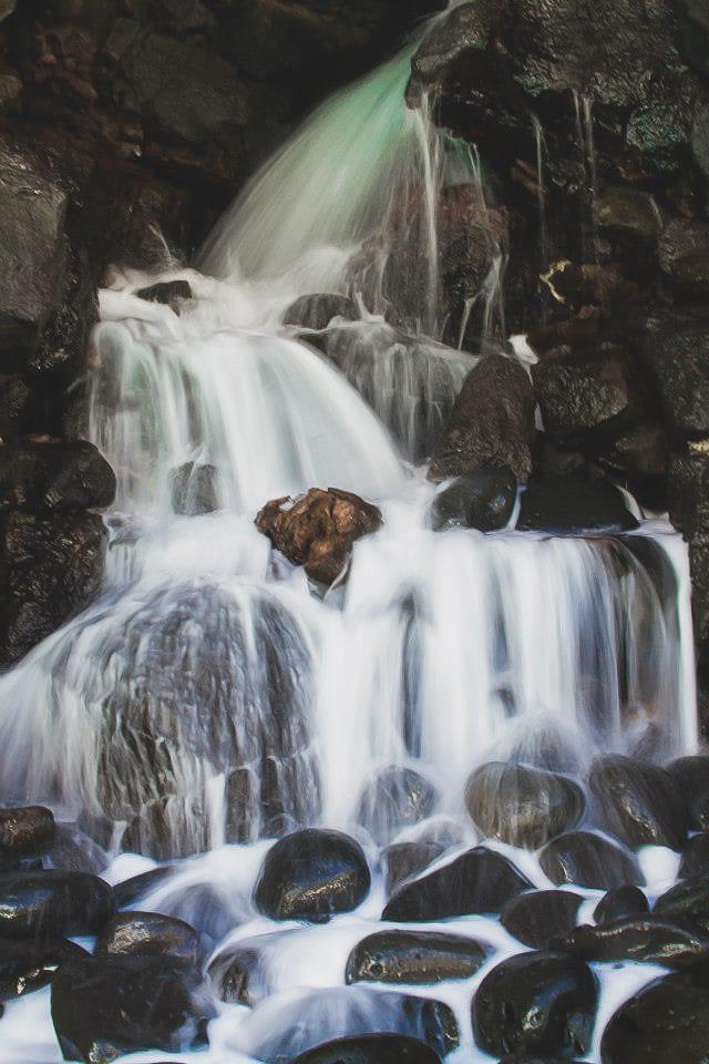 Wasserfall Fotografie ND Filter Lanzarote