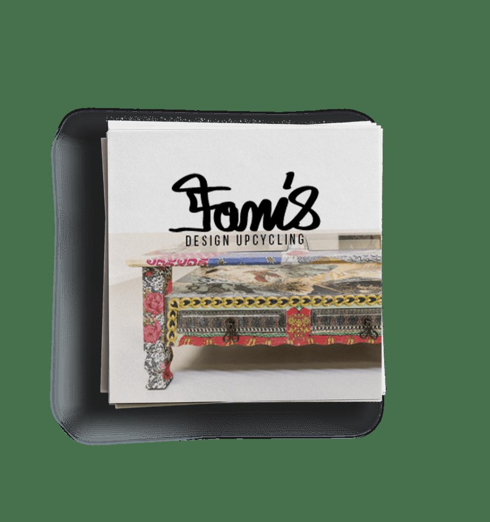Fanis Design Visitenkarten