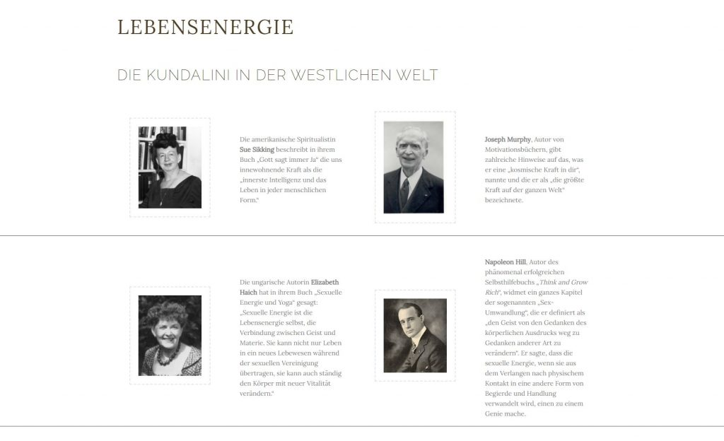 WordPress Design Lebensenergie