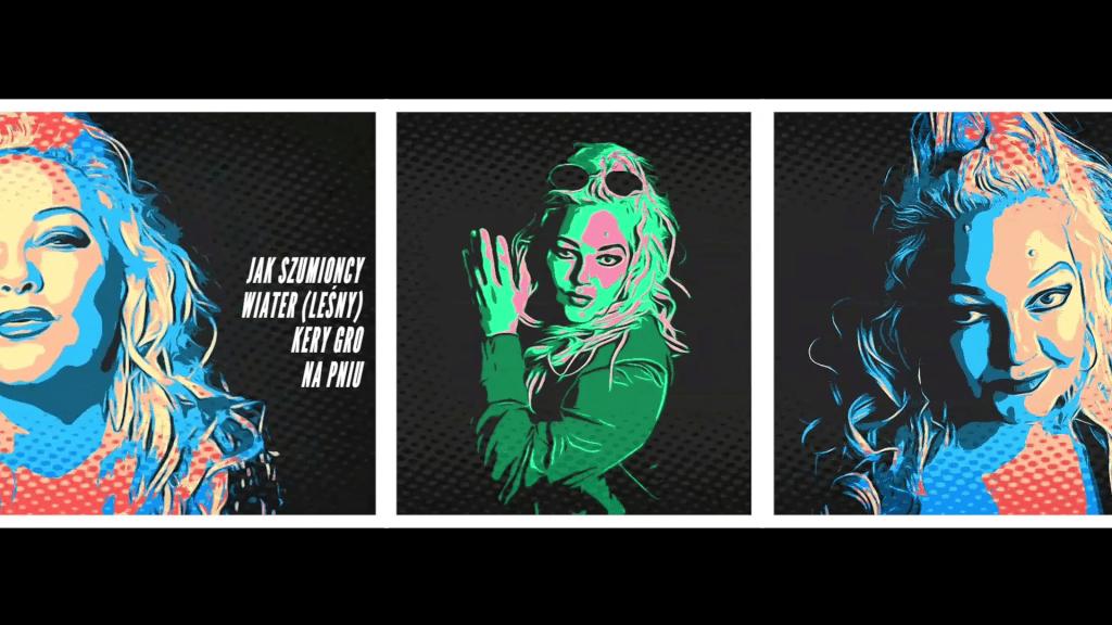 Pop Art Musikvideo Music Video Comic Style Alexandra Stegh